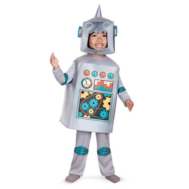 Kids Retro Robot Costume