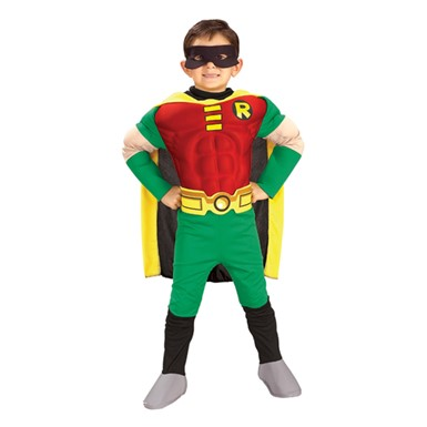 Kids Robin Halloween Costume - Batman