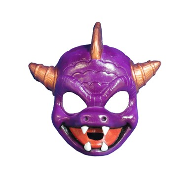 Kids Skylanders Spyro Dragon Costume Mask