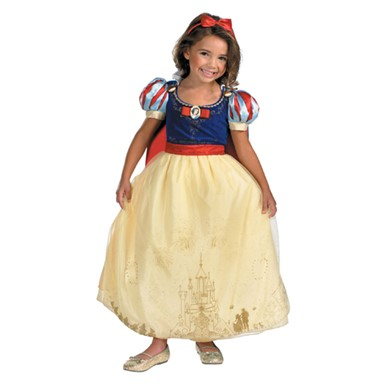 Kids Snow White Costume - Storybook Prestige