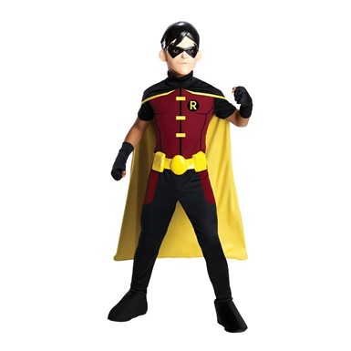 Kids Young Justice Robin Costume
