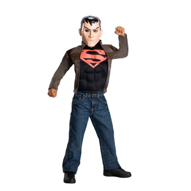 Kids Young Justice Superboy Costume