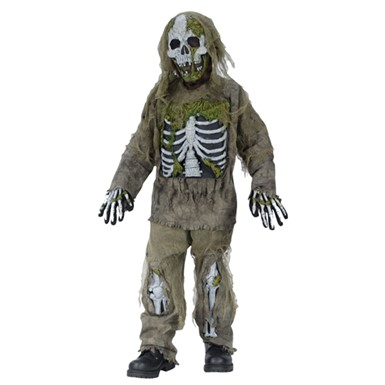 Kids Zombie Costume - Skeleton Zombie