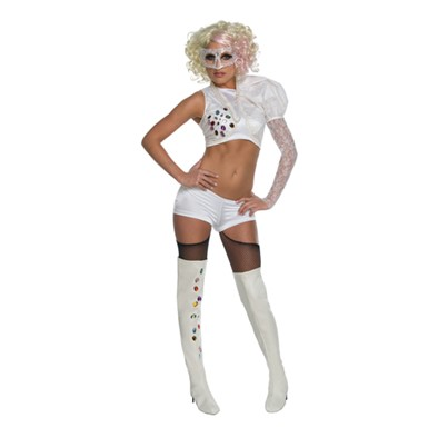 Lady Gaga VMA Costume - White