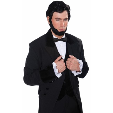 Lincoln Halloween Wig And Beard Accessory