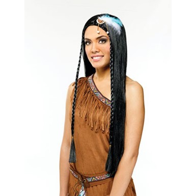 Long Indian Maiden Wig