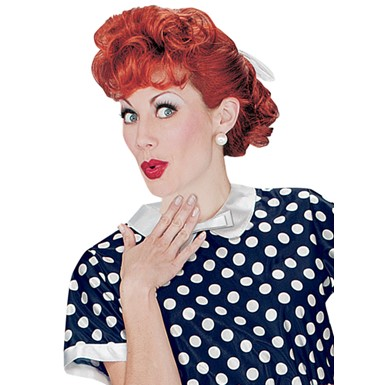 Lucille Ball Wig - I love Lucy