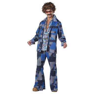 Mens 70's Boogie Nights Costume