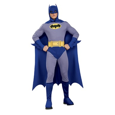 Men's Batman Halloween Costume - Brave & Bold
