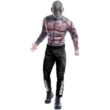 Mens Deluxe Drax The Destroyer Costume