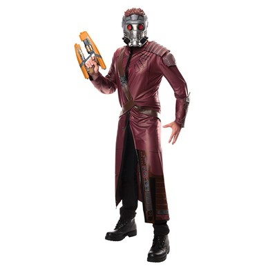 Mens Deluxe Guardians of the Galaxy Star-Lord Costume