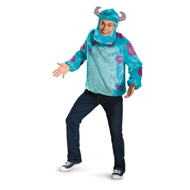 Mens Deluxe Monsters Inc Sulley Costume