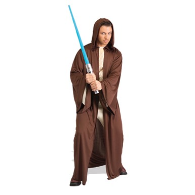 Mens Jedi Knight Robe - Brown Star Wars