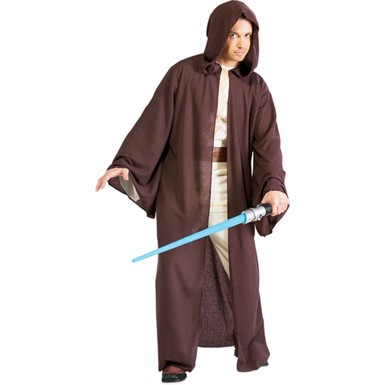 Men's Jedi Robe - Deluxe Brown Star Wars