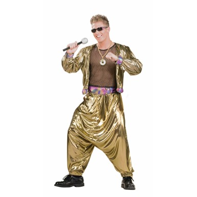 Mens MC Hammer Costume