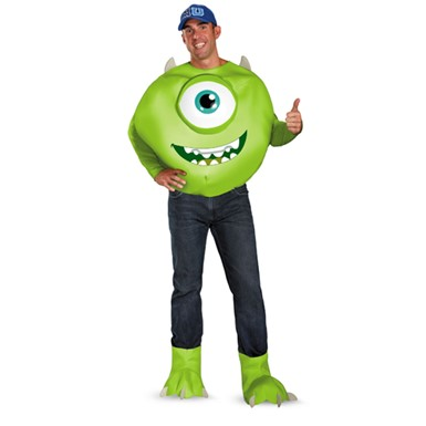 Mens Monsters University Mike Costume