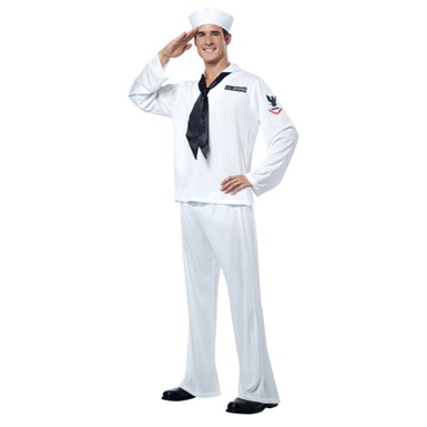 Mens Navy Sailor Costume