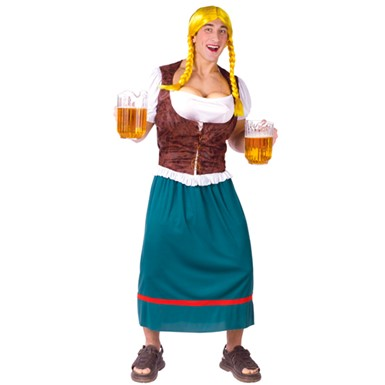 Mens Oktoberfest Costume - Beer Girl