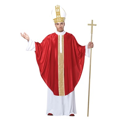 Mens Pope Robes Costume