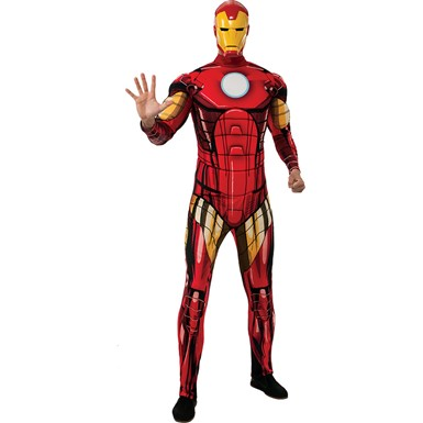 Mens Standard Iron Man Costume