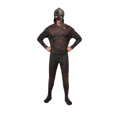 Mens Star Trek Deluxe Klingon Costume