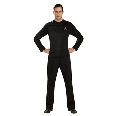 Mens Star Trek Off-Duty Uniform Halloween Costume