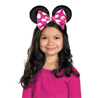 Minnie Mouse Red and Pink Costume Ears
