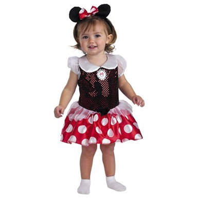 Minnie Mouse Toddler 12-18 Month Halloween Costume