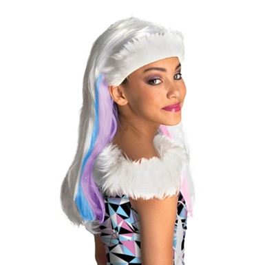 Monster High Abbey Bominable Halloween Costume Wig