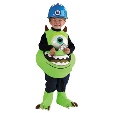 Monsters Inc Mike Candy Catcher Child Costume (UP TO 6)