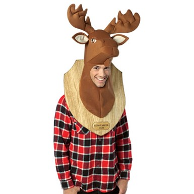 Moose Trophy Halloween Costume