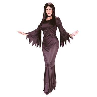 Morticia Addams Family Womens Halloween Costume