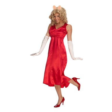 Muppets Miss Piggy Costume - Red