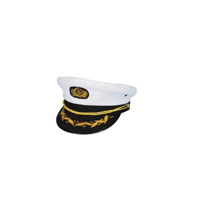 Navy Captain Hat Sailor Halloween Costumes Accessories