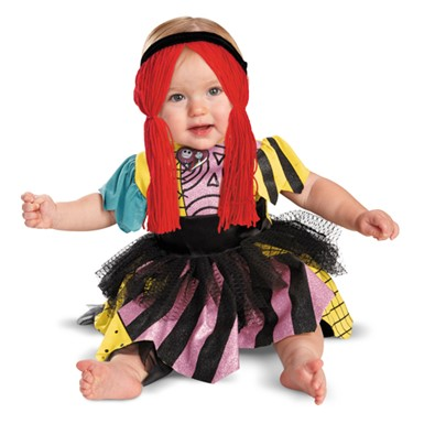 Nightmare Before Xmas Sally Infant Costume sz 12-18 Months