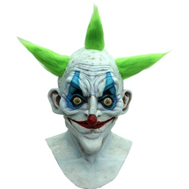 Old Crazy Clown Mask