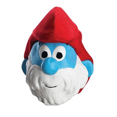 Papa Smurf Adult Mask
