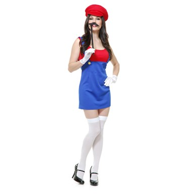 Patty The Plumber Costume - Womens
