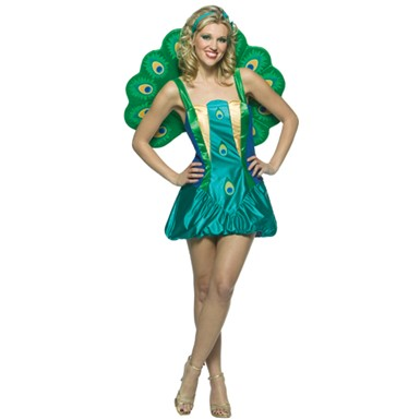 Peacock Halloween Costume - Light Weight