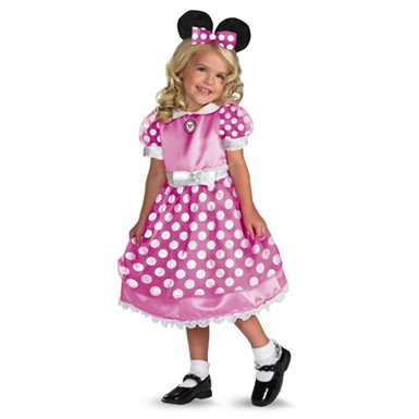 Pink Minnie Mouse Costume - Child