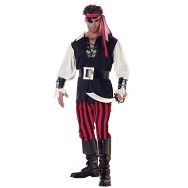 Pirate Costume for Adults - Cutthroat Pirate