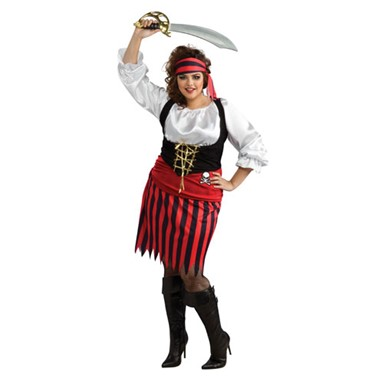 Pirate Girl Costume - Plus Size