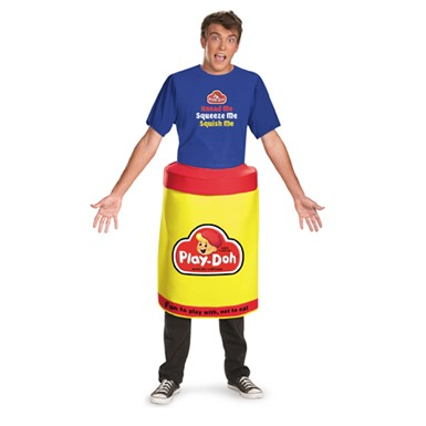 Play Doh Deluxe Costume - Adult XL