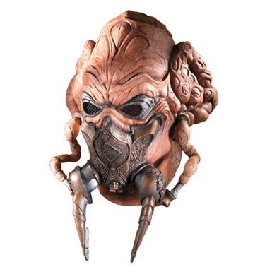 Plo Koon from Star Wars Latex Mask for Costume