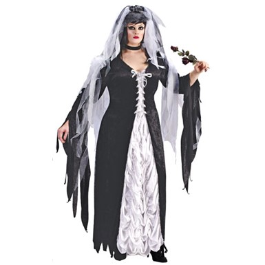 Plus Size Bride Costume - Bride Of Darkness