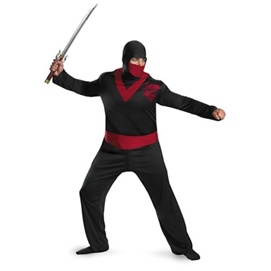 Plus Size Ninja Warrior Costume