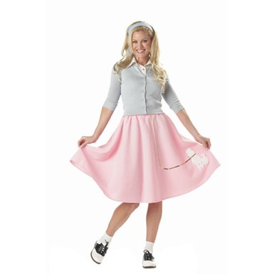 Poodle Skirt Costume - Womens