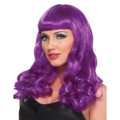 Purple Party Girl Wig