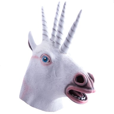 Quadricorn Halloween Mask