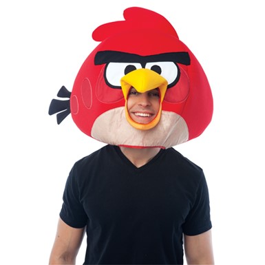 Red Angry Birds Headpiece